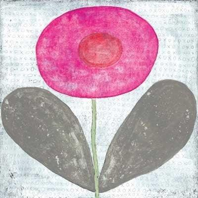 Sugarboo Designs Happy Flower Art Print - Life onPlum