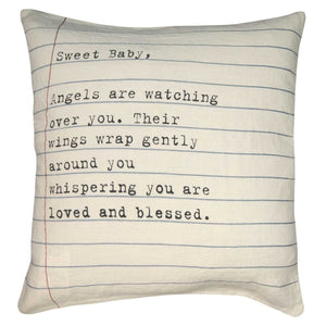 Sugarboo Designs Sweet Baby Pillow - Life onPlum