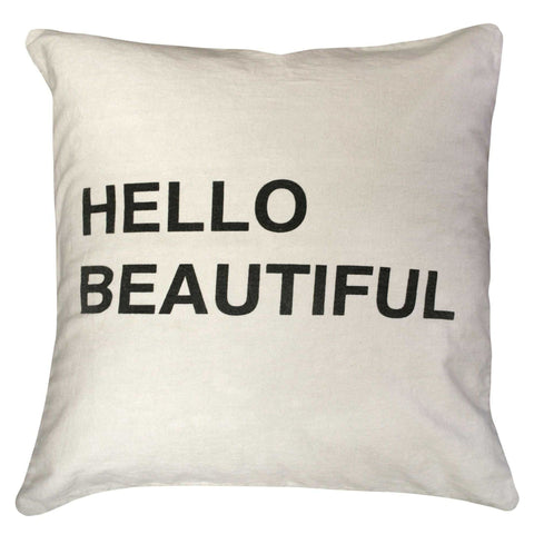 Sugarboo Deisgns Hello Beautiful Pillow - Life onPlum