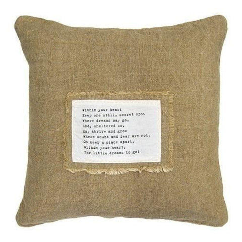 Sugarboo Designs Within Your Heart Pillow - Life onPlum