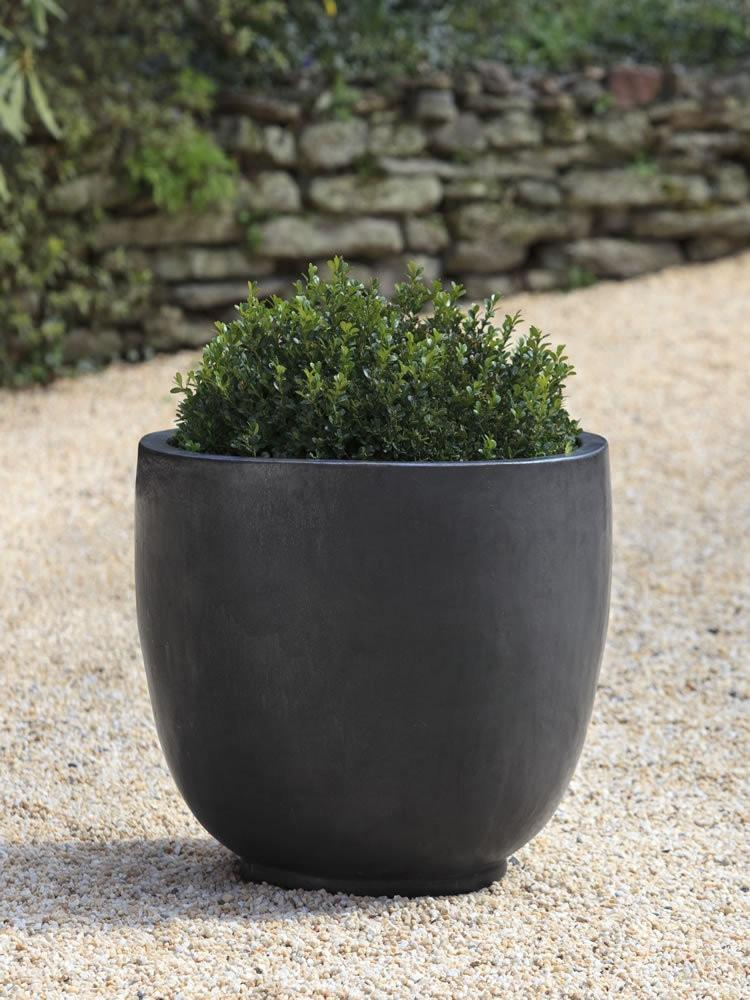 Campania International Sem Planter Set of 4 in Graphite At Home with Beth and Chad