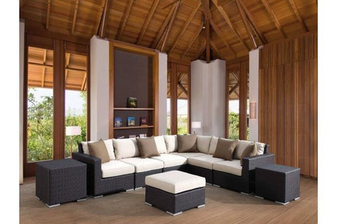 Sunset West Solana Outdoor Sectional Collection