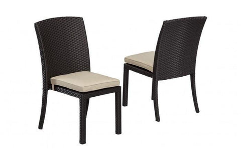 Sunset West Solana Armless Outdoor Dining Chair
