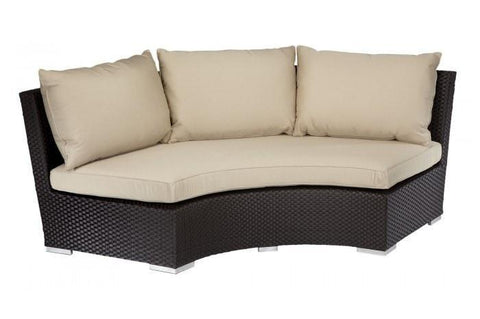 Sunset West Solana Half Round Outdoor Sofa Collection
