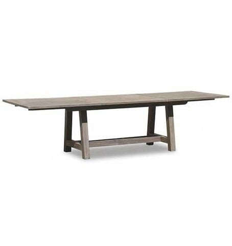 Sunset West Teak 118-inch Extending Dining Table