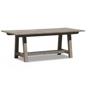 Sunset West Teak 79-inch Extending Dining Table