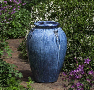 Campania International Lina Jar in Denim Wash The Garden Gates