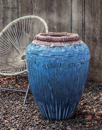 Campania International Cabo Urn in Beachcomber - AtHomewithBethandChad.com