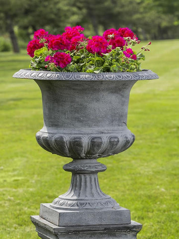 Image of Campania International Barnsley Iron Urn - AtHomewithBethandChad.com
