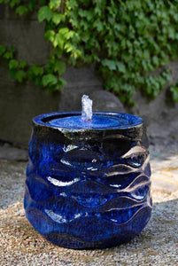 Campania International Rumba Fountain-Riviera Blue- At Home with Beth and Chad