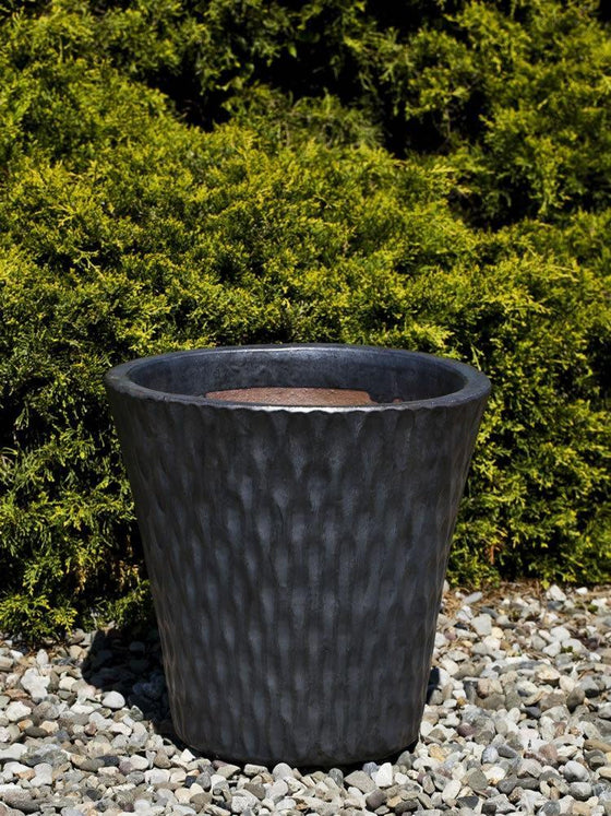 Campania International Akala Planter Set of 4 in Graphite - AtHomewithBethandChad.com