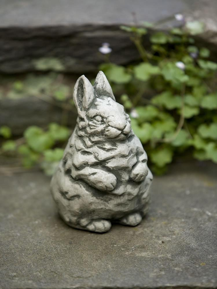Campania International Whisper Standing Bunny Garden Statue The Garden Gates