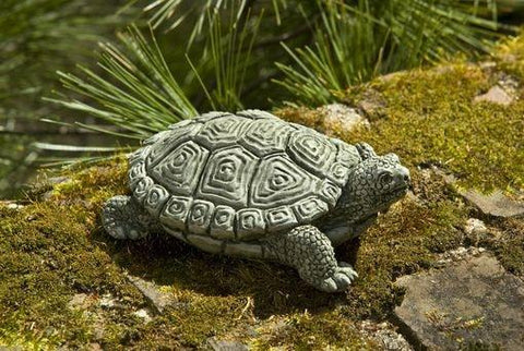 Image of Campania International My Pet Turtle Garden Statue At Home with Beth and Chad