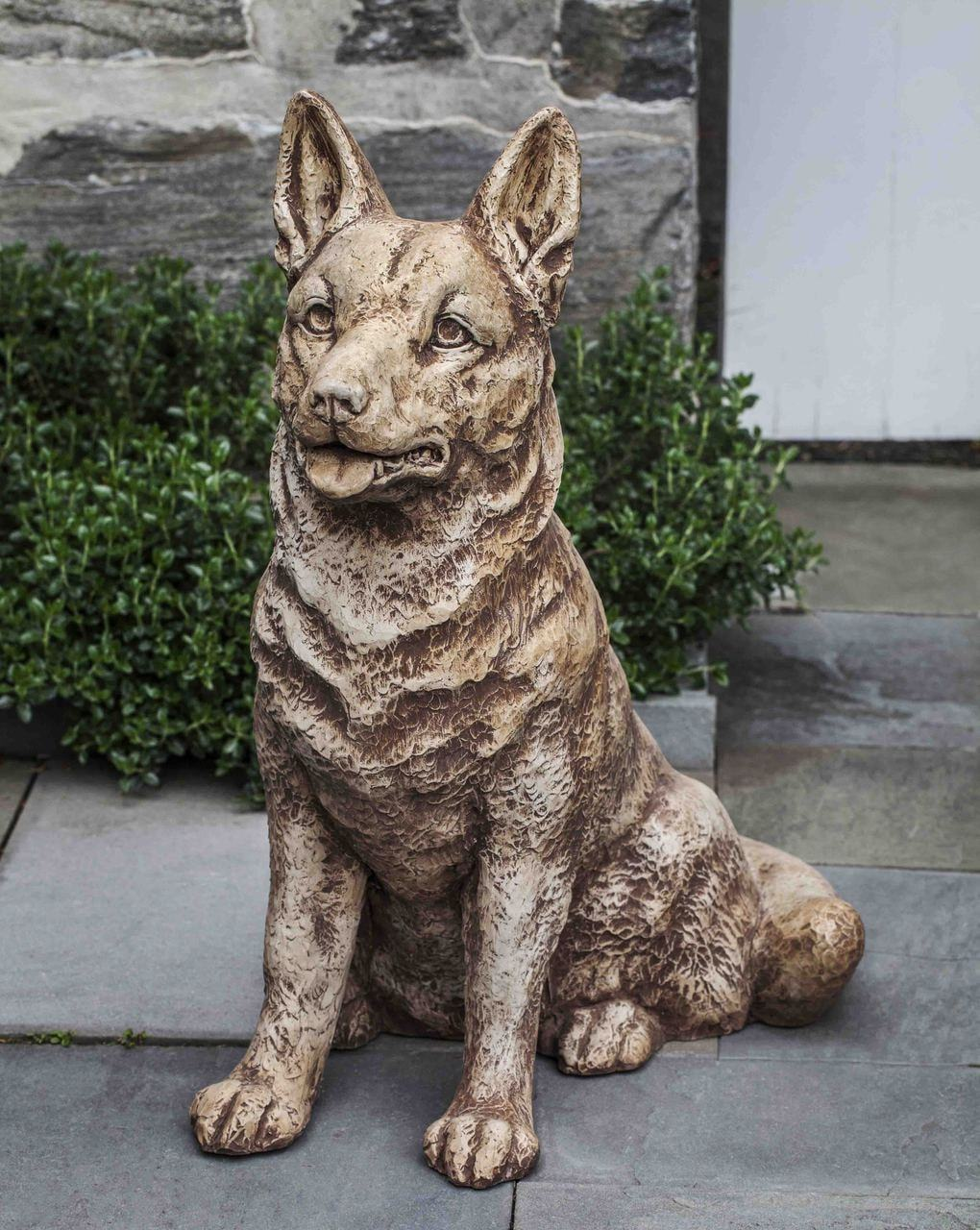 Campania International Rolf the Dog Garden Statue - AtHomewithBethandChad.com