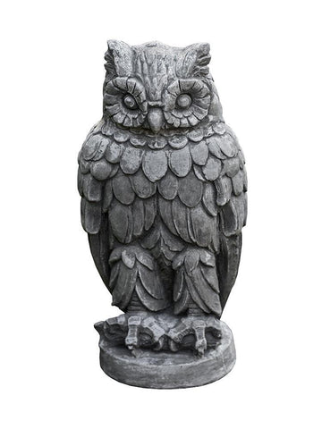 Image of Campania International Wise Old Owl Garden Statue At Home with Beth and Chad