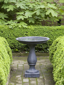 Campania International Williamsburg Candlestand Birdbath The Garden Gates