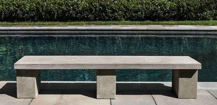 Image of Campania International Biscayne Bench - AtHomewithBethandChad.com