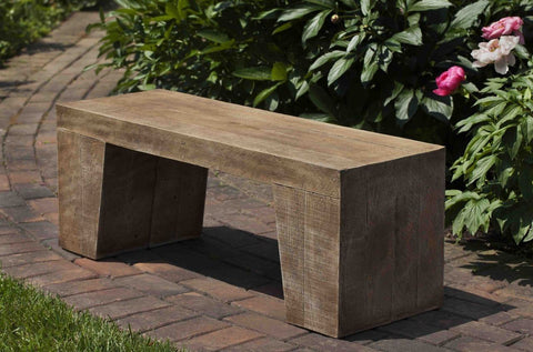 Image of Campania International Barn Board Bench - AtHomewithBethandChad.com