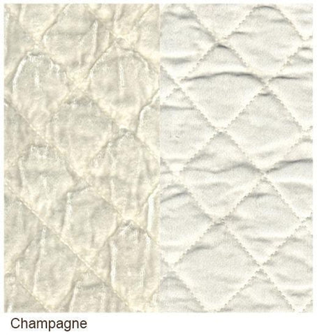 Image of Bella Notte Linens Silk Velvet Quilted Yardage - AtHomewithBethandChad.com