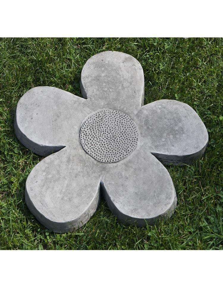 Campania International Flower Power Large Stepping Stone At Home with Beth and Chad