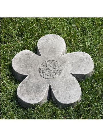 Image of Campania International Flower Power Medium Stepping Stone At Home with Beth and Chad