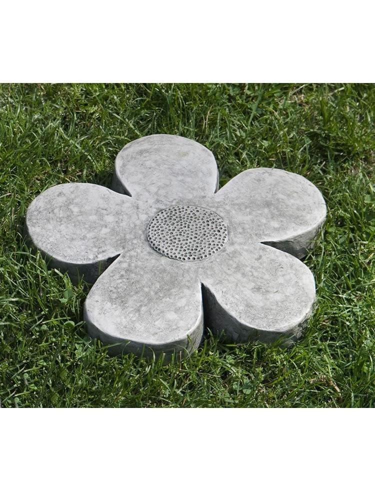 Campania International Flower Power Small Stepping Stone At Home with Beth and Chad