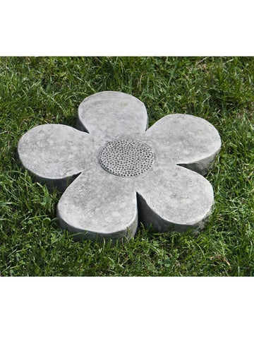 Image of Campania International Flower Power Small Stepping Stone At Home with Beth and Chad