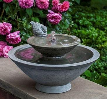 Campania International Wychwood Fountain At Home with Beth and Chad