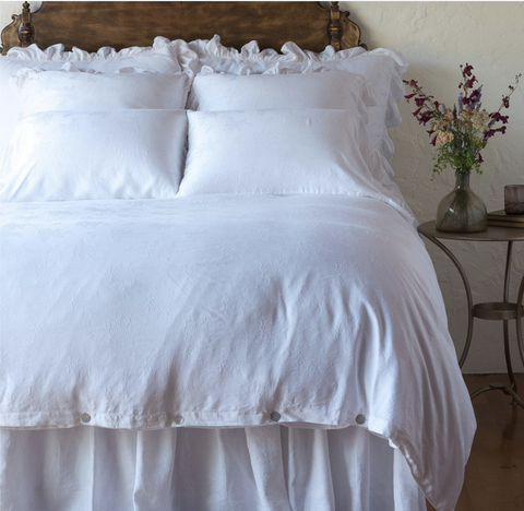 Bella Notte Linens Isabella Duvet Cover - AtHomewithBethandChad.com