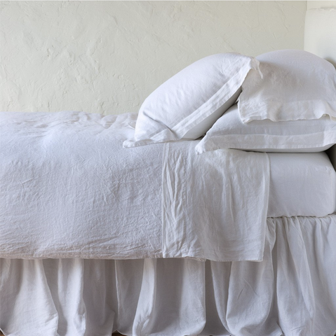 Image of Bella Notte Linens Linen Duvet Cover - AtHomewithBethandChad.com
