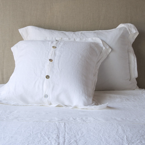 Image of Bella Notte Linens Linen Pillow Shams Quick Ship - AtHomewithBethandChad.com