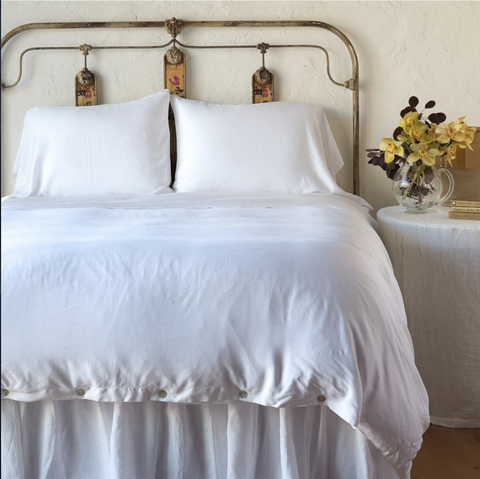 Bella Notte Linens Madera Luxe Duvet Cover