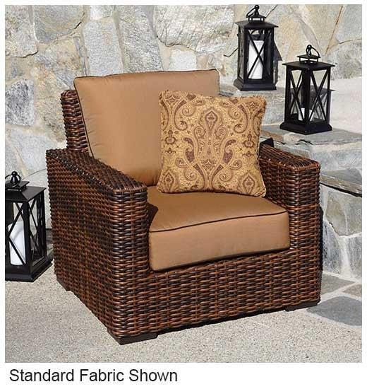 Sunset West Montecito Outdoor Dining Chair with Cushion