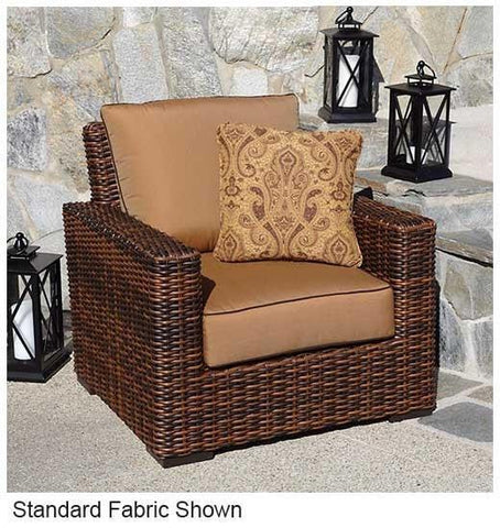 Image of Sunset West Montecito Outdoor Dining Chair with Cushion