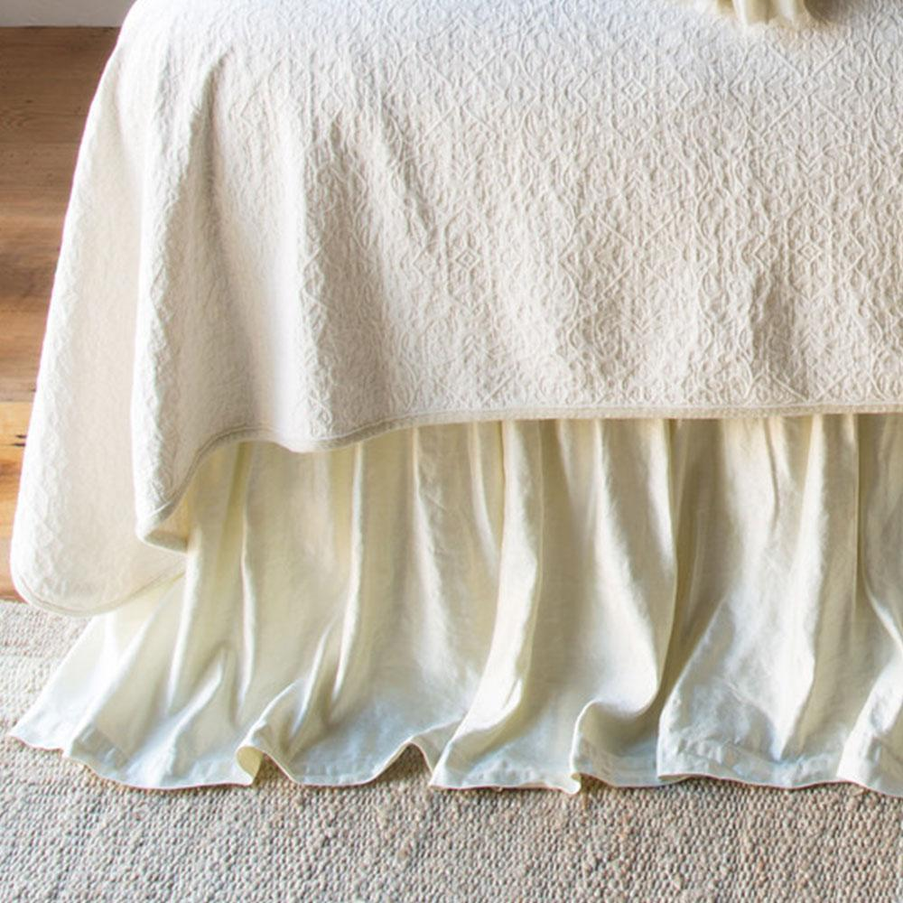 Bella Notte Linens Paloma Bed Skirt - AtHomewithBethandChad.com