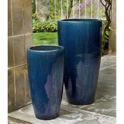 Campania International Rioja Planter in Indigo Rain