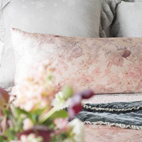 Bella Notte Linens Rosalina Personal Lumbar Pillow - AtHomewithBethandChad.com