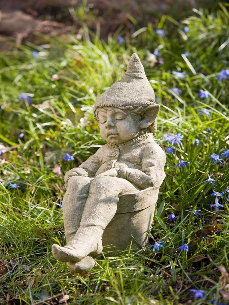Campania International Joe the Gnome Garden Statue At Home with Beth and Chad