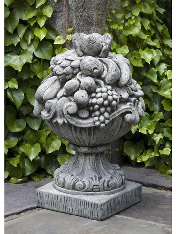 Image of Campania International Italian Fruit Basket Garden Statue At Home with Beth and Chad
