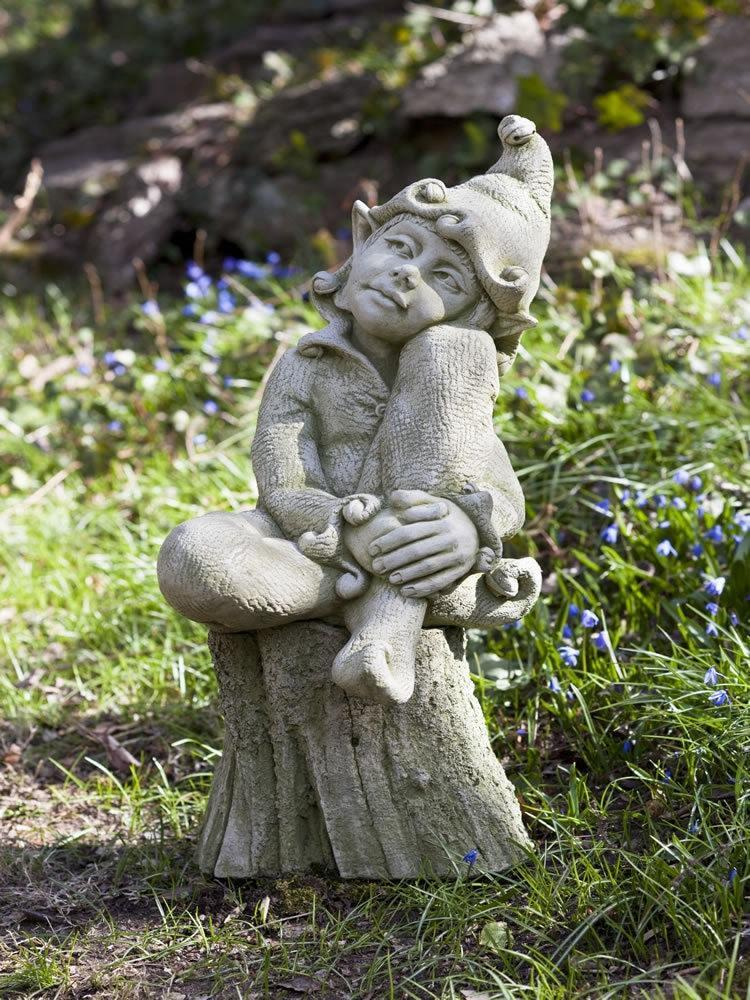 Campania International Jenny the Gnome Garden Statue At Home with Beth and Chad