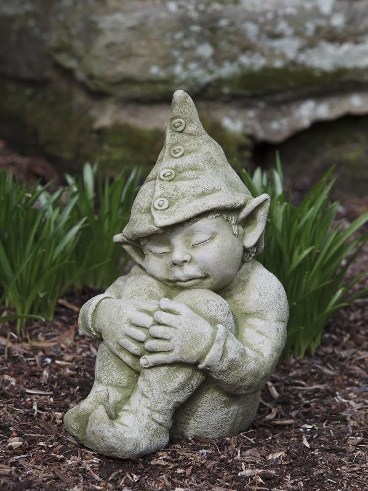 Campania International Galen the Gnome Garden Statue The Garden Gates