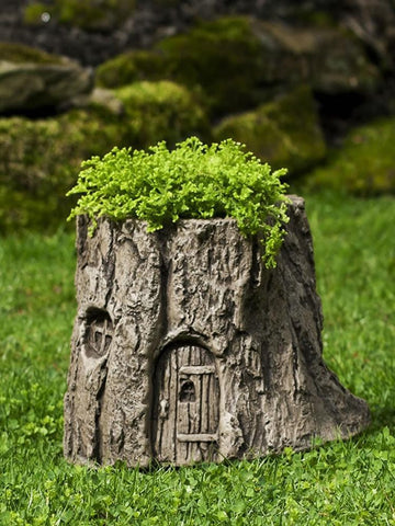 Image of Campania International Gnome Home Garden Planter At Home with Beth and Chad