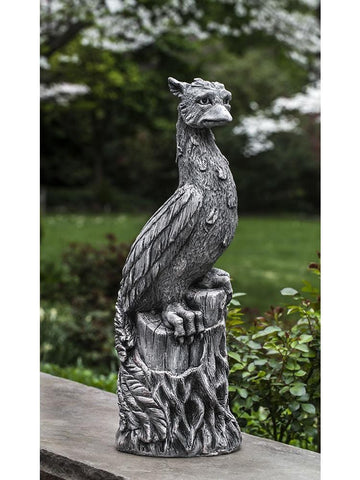 Image of Campania International Phoenix Garden Statue The Garden Gates