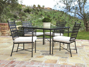 Sunset West Provence Wrought Iron Dining Set At Home with Beth and Chad
