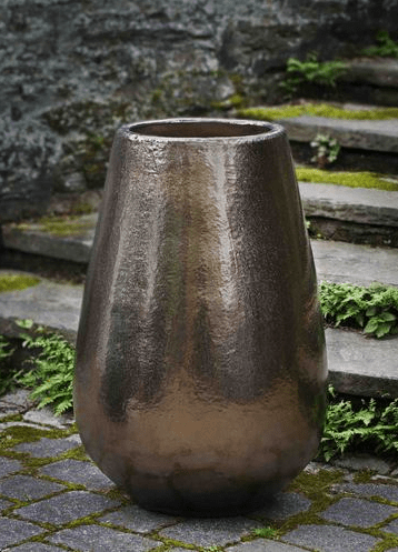 Campania International Barolo Planter in Bronze Dore - AtHomewithBethandChad.com