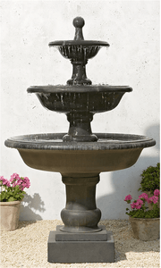 Campania International Vicobello Fountain At Home with Beth and Chad