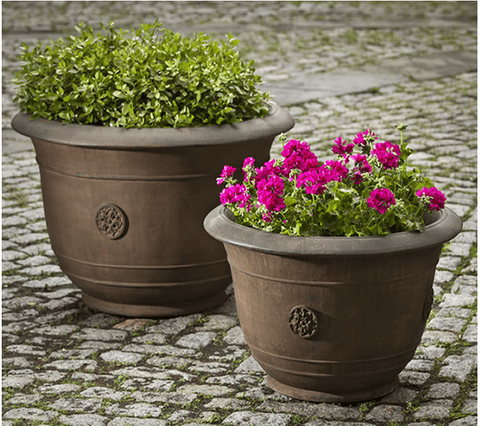 Image of Campania International Brenta Planter Set - AtHomewithBethandChad.com