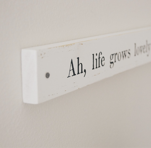 Image of Sugarboo Designs Poetry Stick Wall Art