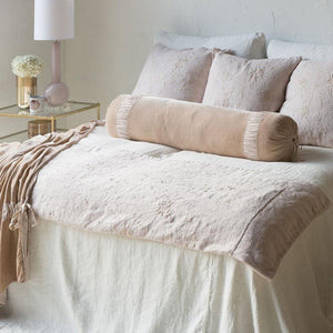 Bella Notte Linens Seville Embroidered Large Throw Blanket - AtHomewithBethandChad.com