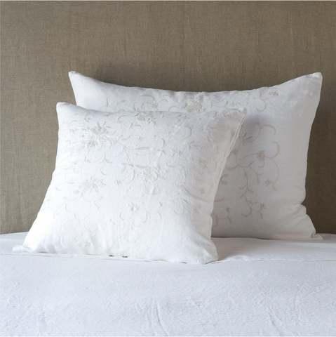 Image of Bella Notte Linens Seville Embroidered Pillow Sham - AtHomewithBethandChad.com